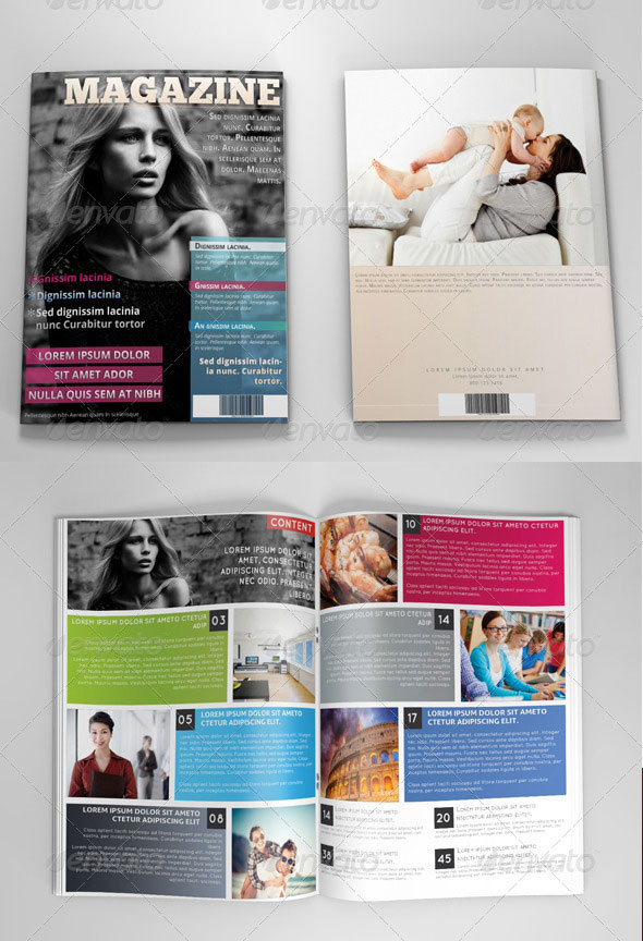 34 high quality psd  u0026 indesign magazine templates
