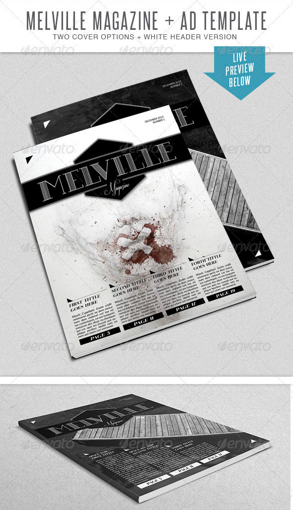 Melville InDesign Mgz Template