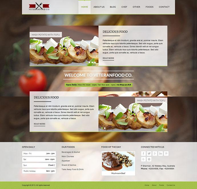 25 best html website templates for cafe bar  u0026 restaurant  u2013 bashooka
