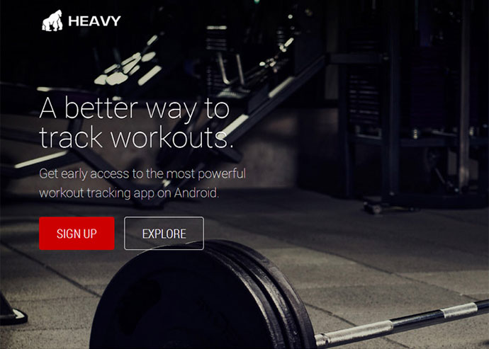 Heavy: Android Bodybuilding App