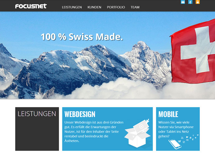 FocusNet - Webdesign St. Gallen