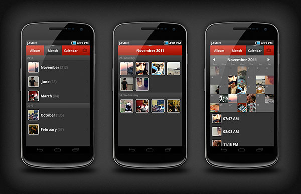 PhotoCal for Android By Jason Yoo