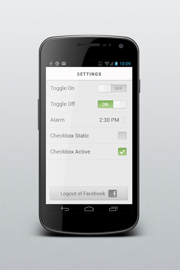 Android Settings Refresh By Charles Riccardi