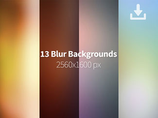 13 Blurred Backgrounds By GraphicsFuel (Rafi)