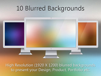 10 Blurred Backgrounds By Harshil Acharya