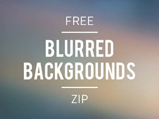 Free Blurred Backgrounds ZIP