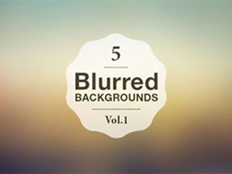5 Blurred Backgrounds Vol.1