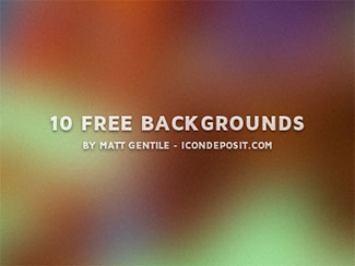 10 Free Backgrounds By Matt Gentile
