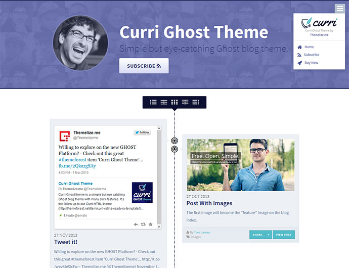 Fantastic Responsive Ghost Themes Web Graphic Design Bashooka - Timeline html template