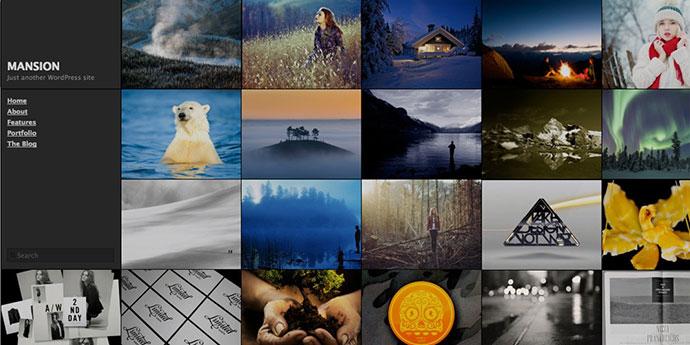 mansion free grid wordpress theme