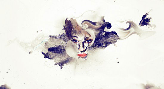 Artistic Photo Manipulation with Cracked Face Effect in Photoshop