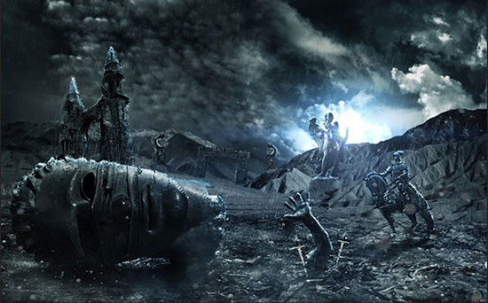 Create An Epic Fantasy Based Ancient Battleground