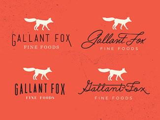 Gallant Fox Logo Concepts By Hoodzpah