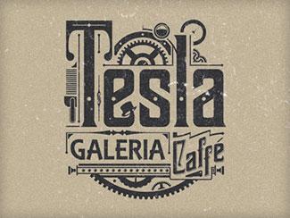 Tesla Logo By Tomek Biernat