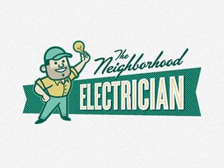 Neighborhood Electrician By Jeffrey Devey