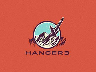 Logo concept for Hanger 3 By Emir Ayouni