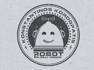 Logo for a portfolio site By Konstantinos Kordopatis