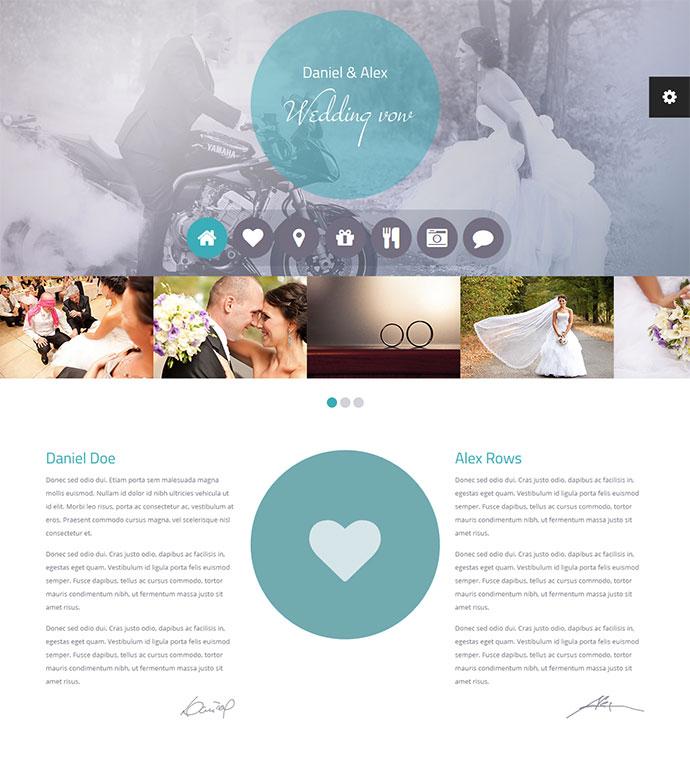 wedding html template