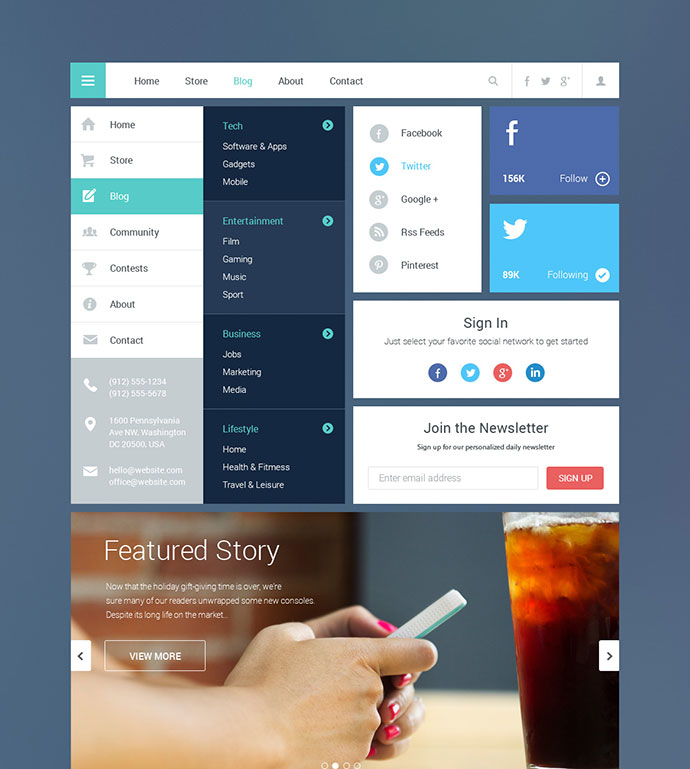 Blog-Magazine-UI-Kit-2
