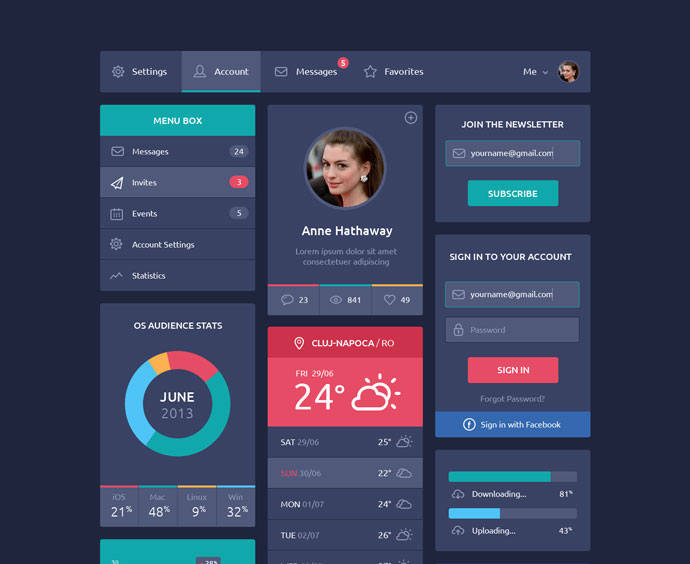 Flat-Design-UI-Components-10