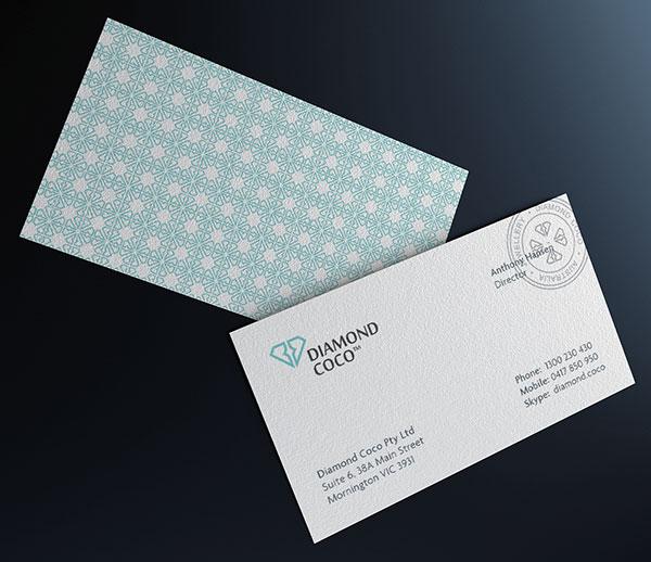 Diamond Coco Logo Design By Paulius Kairevičius