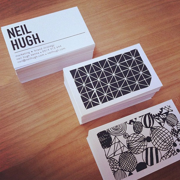 30 cool creative business card design ideas 2014 web graphic awesome business card reheart Image collections