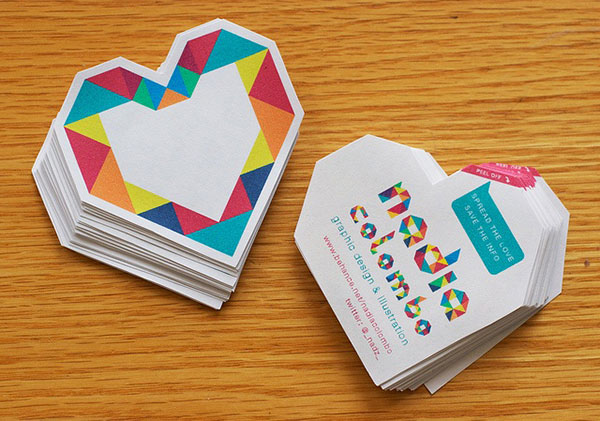30 Cool Creative Business Card Design Ideas 2014 | Web & Graphic ...