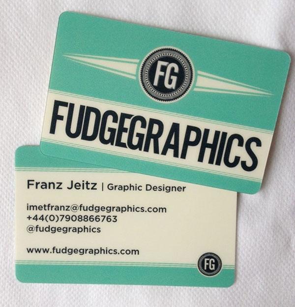 Fudgegraphics Business Cards
