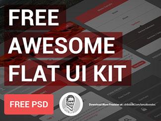 [Freebie PSD] Free Awesome