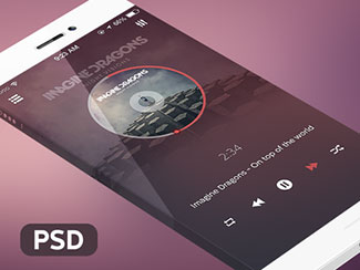 Music Player By Alexandru Stoica