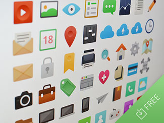 It's Flat - Icon Set By Sebastiano Guerriero