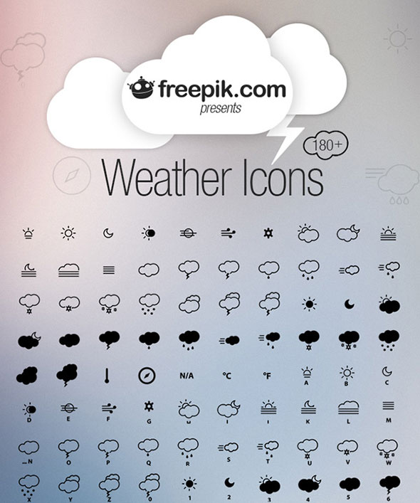 free-weather-icon-sets-1