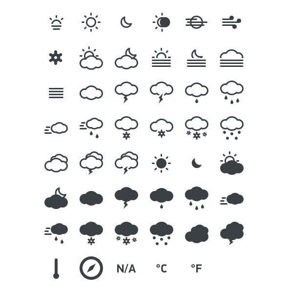 free-weather-icon-sets-2
