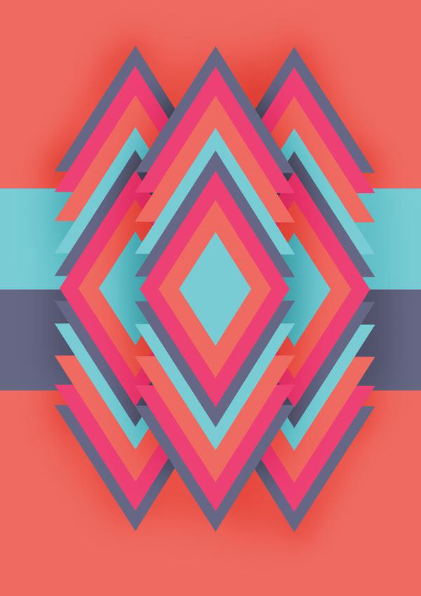40 striking geometric patterns design inspiration web Geometric patterns