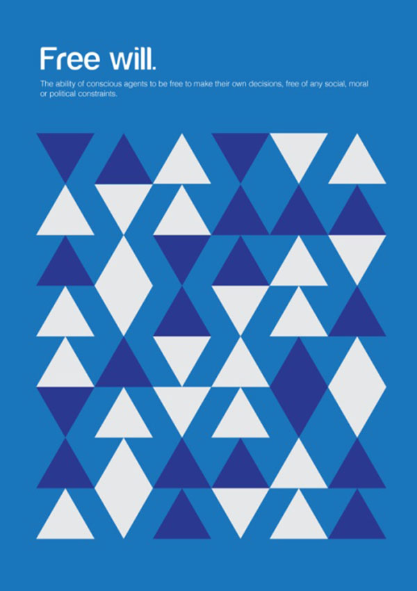 Philographics, big ideas in simple shapes - Free will