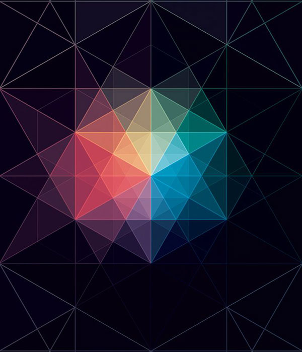 40 Striking Geometric Patterns Design Inspiration Web
