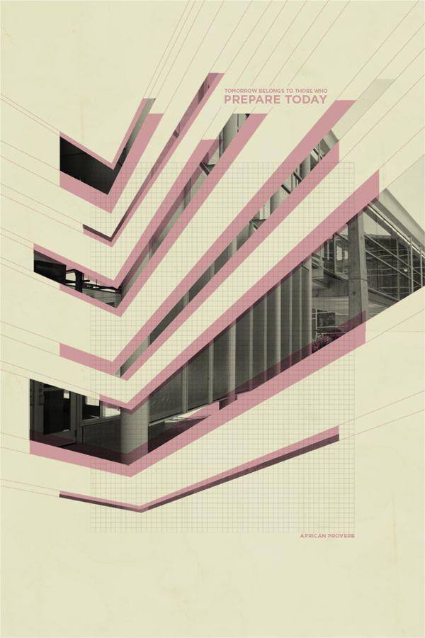 Architecture graphic design poster the for Architecture graphique