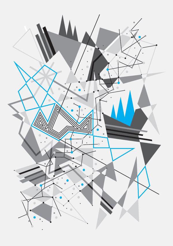 40 striking geometric patterns design inspiration web graphic