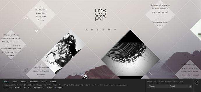 max cooper music website