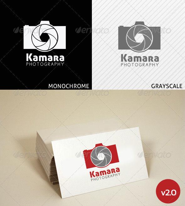 Kamara Photography Logo Template v2