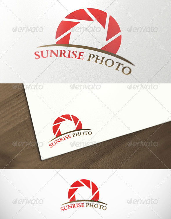 Sunrise Photography Premium Logo Template