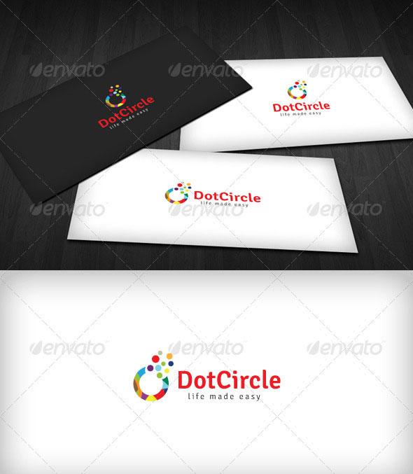 Dot Circle Logo