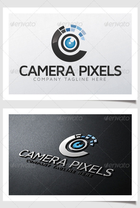 High Quality PSD AI Photography Logo Templates Web Graphic - Free modern logo templates