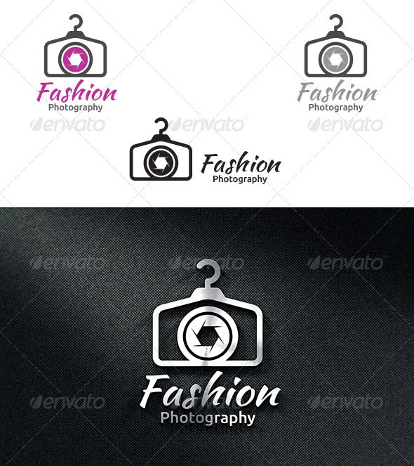 Fashion Photography - Logo Template