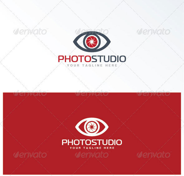 photo studio logo template