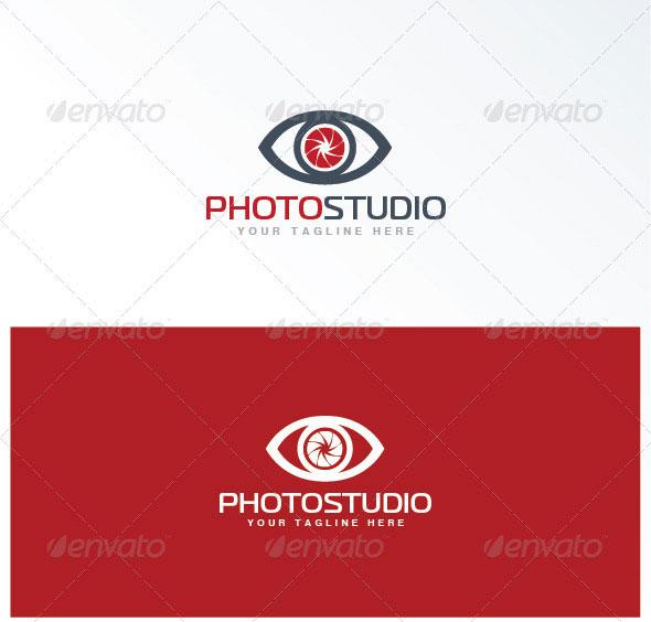 photo studio logo template