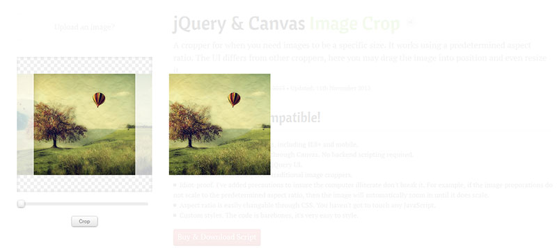 8 jQuery Image Cropping Plugins & Tutorials