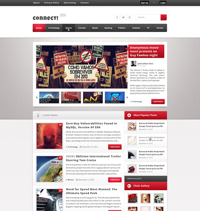 Online Magazine Templates Geccetackletartsco - Online magazine template
