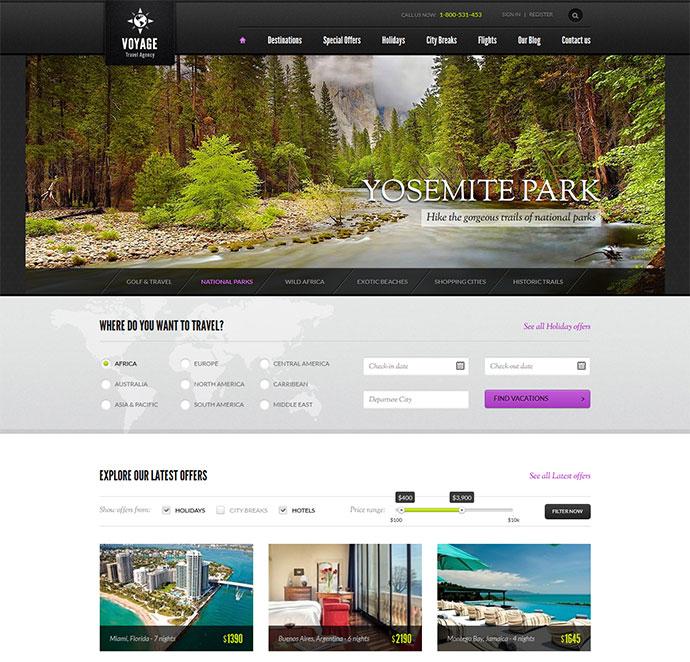 Voyage - Travel Agency HTML Theme