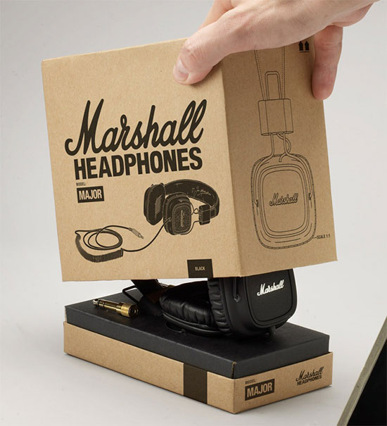 Headphone packaging